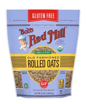 Bob's Red Mill - Organic Old Fashioned Rolled Oats - Gluten Free - 32 OZ