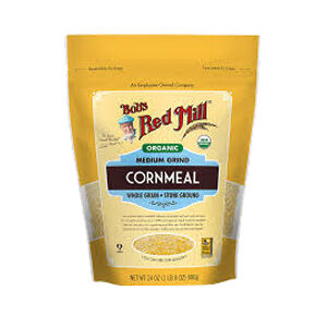 Bob's Red Mill, Organic, Medium Grind Cornmeal, 24 OZ