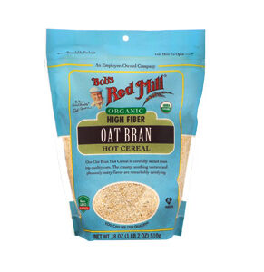 Bob's Red Mill Organic Hot Cereal, Oat Bran, 18 OZ