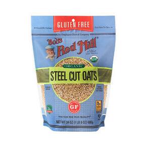 BOBS RED MILL: Steel Cut Oats, 24 OZ
