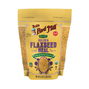 Bob's Red Mill, Organic Whole Ground Flaxseed Meal, 32 OZ