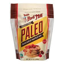 BOBS RED MILL: Paleo Pancake & Waffle Mix, 13 OZ