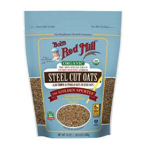Bob's Red Mill - Oats - Organic Quick Cooking Steel Cut Oats - 22 OZ