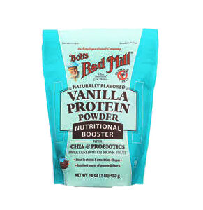 Bob's Red Mill Protein Powder Nutritional Booster Vanilla -- 16 OZ