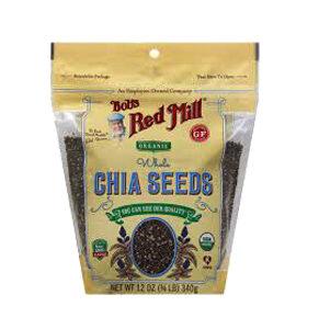 Bob's Red Mill, Organic Whole Chia Seeds, 12 OZ