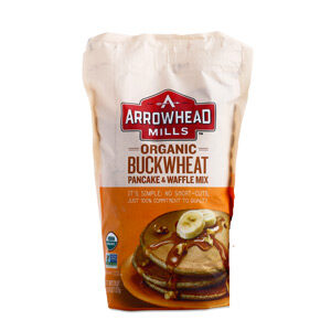 Arrowhead Mills, Organic Buckwheat Pancake and Waffle Mix, 26 OZ