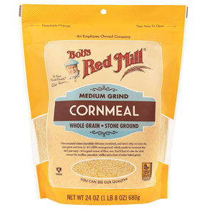 Bob's Red Mill - Medium Grind Cornmeal - 24 OZ