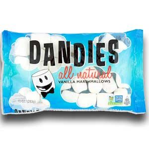 Dandies - All Natural Vegan Marshmallows - 10 OZ