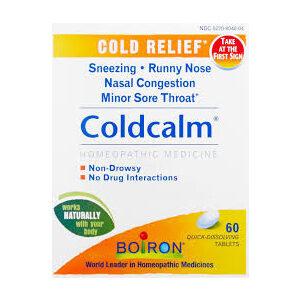 Boiron, Coldcalm, 60 Quick-Dissolving Tablets