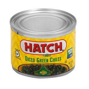 Hatch Mild Diced Green Chiles, 4 OZ