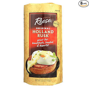 Reese Rusk, Holland Rusk, Original, 3.5 OZ