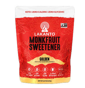 Lakanto Monkfruit Sweetener Golden -- 8.29 OZ