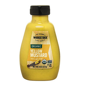 Woodstock Organic Mustard - Yellow - 8 OZ