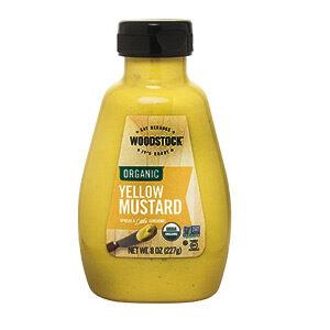 Woodstock Organic Mustard - Yellow - 8 OZ