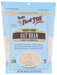 Bob's Red Mill, Oat Bran, Hot Cereal, 18 oz