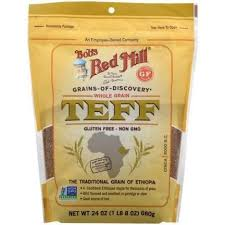 Bob's Red Mill, Teff, Whole Grain, 24 oz