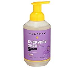 Alaffia Foaming Hand Soap Shea Butter & Neem Lavender -- 18 fl oz