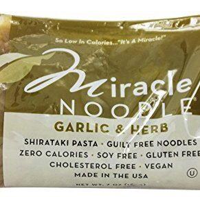 Miracle Noodle, Garlic & Herb, Shirataki Pasta, 7 oz