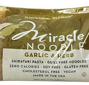 Miracle Noodle, Garlic & Herb, Shirataki Pasta, 7 oz