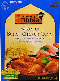 Kitchens of India, Paste for Butter Chicken Curry, Concentrate for Sauce, Mild, 3.5 oz