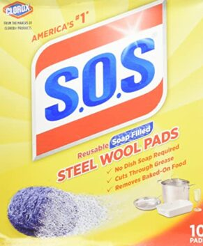 S.O.S Steel Wool Soap Pads 10.0 ea