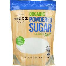 Woodstock Organic Powdered Sugar -- 16 oz