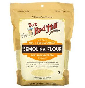 Bob's Red Mill, Semolina Flour, 24 oz (Pack of 1)