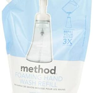 Foaming Hand Wash Refill Sweet Water - 28 fl. oz. by Method (pack of 1)Foaming Hand Wash Refill Sweet Water - 28 fl. oz. by Method (Pack of 1)
