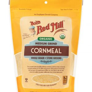 Bob's Red Mill, Organic, Medium Grind Cornmeal, 24 oz