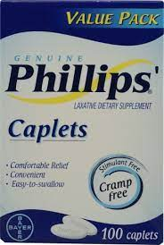 Phillips Laxative Dietary Supplement Caplets 100.0 ea(pack of 1)
