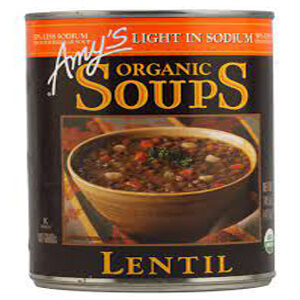 Amy's - Organic Low Sodium Lentil Soup - 14.5 oz