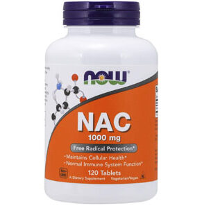 Now Foods, NAC, 1000 mg, 120 Tablets