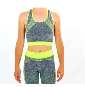 Women's 2 Piece Sports Sets Yoga Fitness Seamless Sports Bra+Pants Leggings Set