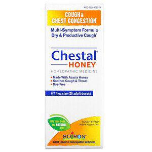 Boiron, Chestal Honey, Cough & Chest Congestion, 6.7 fl oz