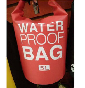 Dry Bag Waterproof Sack with Shoulder Strap - 5L (Colors may vary)