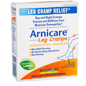 Boiron Arnicare® Leg Cramps -- 33 Chewable Tablets