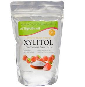 Xyloburst, Xylitol Low-Calorie Sweetener, 1 lb (454 g)