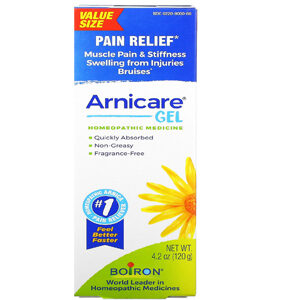 Boiron, Arnicare Gel, Pain Relief, Unscented, 4.2 oz (120 g)