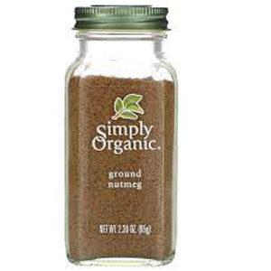 Simply Organic, Ground Nutmeg, 2.30 oz (65 g)