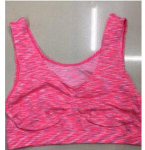 Women's yoga workout easy to wear bra - Rose
