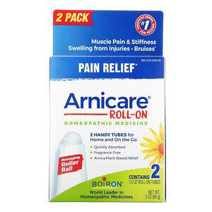 Boiron, Arnicare Roll-On, Pain Relief, 2 Tubes, 1.5 oz Each