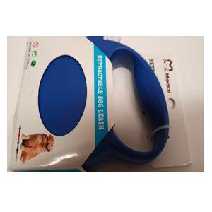 Retractable Dog Leash - 10 ft (Blue)