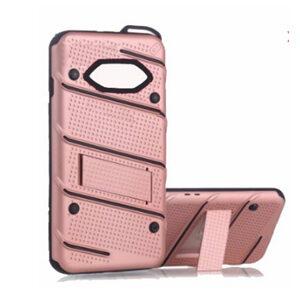 Phantom Hybrid hard tough dual layer armor case for Samsung Galaxy phone (Rose)
