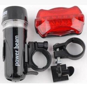 Safeguard bicycle light set