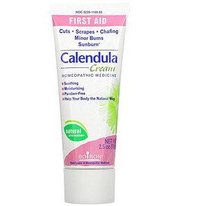 Boiron, Calendula Cream, First Aid, 2.5 oz (70 g)