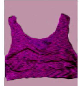 Women's yoga workout easy to wear bra - Purple