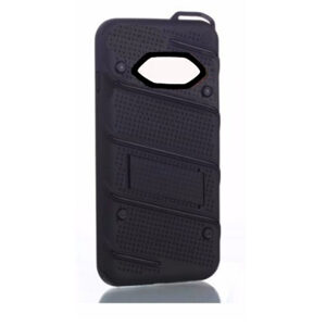 Phantom Hybrid hard tough dual layer armor case for Samsung Galaxy phone (Black)