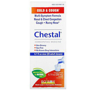 Boiron, Chestal, Cold & Cough, 6.7 fl oz (200 ml)