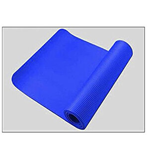 Truss Motion Yoga and Exercise Mat with Carrying Strap - Blue