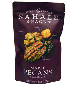 Sahale Snacks, Glazed Mix, Maple Pecans, 4 oz (113 g)